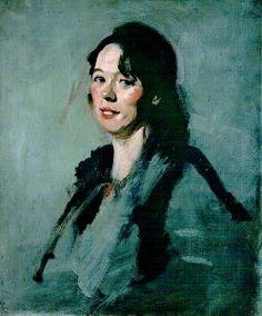 Jeannie Blyth - Samuel John Peploe - The Athenaeum