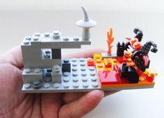 Lego Gandalf vs the Balrog.  Awesome.