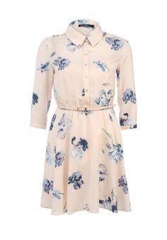 Платье Kira Plastinina, цвет: розовый. Артикул: KI001EWDTB97