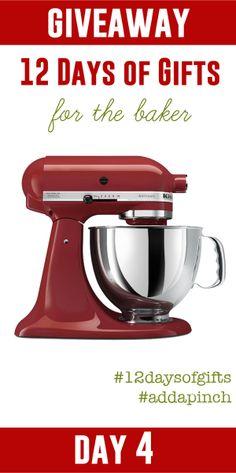 #12daysofgifts #addapinch mixer giveaway