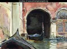View Venetian canal by John Singer Sargent on artnet. Browse upcoming and past auction lots by John Singer Sargent. John Singer Sargent Watercolors, Sargent Art, Internet Art, Paint Background, American Artists, Les Oeuvres, Art Gallery, Paris, Portrait