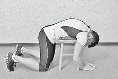 Упражнения на табурете для растяжки шейного, грудного и поясничного отделов позвоночника. Уникальная гимнастика «Умная вода» для спины и суставов