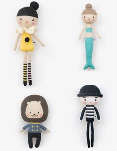 Lauvely dolls http://knuffelsalacarteblog.blogspot.nl/