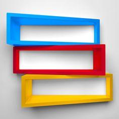 Pomysły na oryginalne półki na książki - Wsporniki dekoracyjne - Wsporniki - Przechowywanie - Urządzanie - Inspiracje i porady