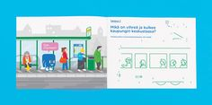 HSL – Helsinki Regional Transport Authority on Behance Kokoro, Helsinki, Transportation, Identity, Design Inspiration, Regional, Author, Illustration, Behance