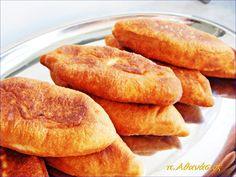 Greek Recipes, Vegan Recipes, Snack Recipes, Cooking Recipes, Apple Pie, Cornbread, Food And Drink, Appetizers, Tasty