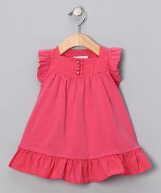 Pink Ruffle Dress - Infant, Toddler & Girls
