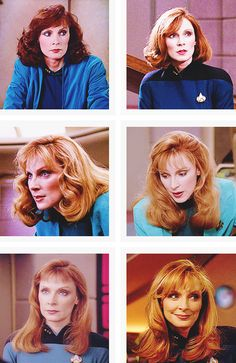 """""""Well, one night after I had turned it down, he [Gene Roddenberry] called me from his outdoor Jacuzzi & told me to """"Just take the part."""" He assured me I was to be the love interest of Picard & a sort of Chief Surgeon of the Universe, plus a good mother. It was """"a great part, a new kind of female role."""""""" — Gates McFadden"""