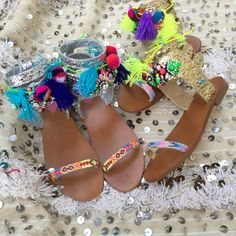 Mademoiselle Ema sandals order now!