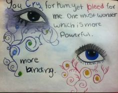 Splintered / Morpheus quote by Jordin Cox
