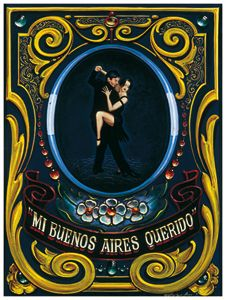 Tango y filete de Buenos Aires Cool Posters, Travel Posters, Tango Art, Kiss And Romance, Deco Paint, Pinstriping Designs, Argentine Tango, Arte Popular, Naive Art