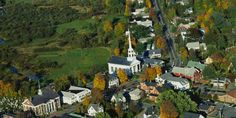 """Route 100 Vermont Even without snow on the ground, """"Skier's Highway"""" attracts tourists year-round. Visit picturesque Stowe when the leaves begin to turn or wait for colder temperatures to tackle the slopes at Killington Ski Resort."""