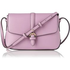 L.K. Bennett Megan Lilac Mini Crossbody Bag (1.328.680 IDR) ❤ liked on Polyvore featuring bags, handbags, shoulder bags, purple handbags, mini crossbody, sling purse, mini crossbody purse and mini purse