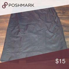 Bebe pencil skirt Bebe black satin pencil skirt. In good condition, lots of wear left. Wardrobe staple. bebe Skirts Pencil