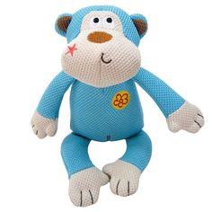 Pelucia Macaco Jungle Duki - MeuAmigoPet.com.br #petshop #cachorro #cão #meuamigopet