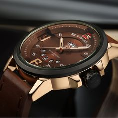 Watches Men Luxury Brand Casual Watch Quartz Clock Men Sport Watches Men's Leather Military Wrist Watch Relogio Masculino 2016 - Online Shopping for Watches