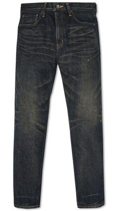 Neighborhood deep narrow jeans. #denim