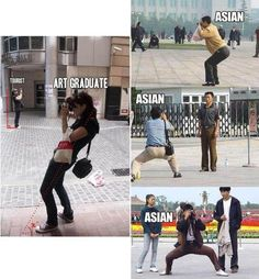 How to pose when you're the photographer - asian style Memes Humor, Man Humor, Funny Memes, Jokes, Photography Meme, Asian Photography, Photography School, Wtf Funny, Stupid Funny