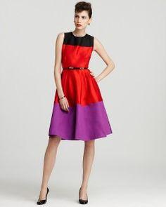 Color Block Dresses for Women