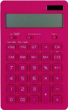 ラドンナ Toffy 電卓 チェリーピンク TF40-M-CPK