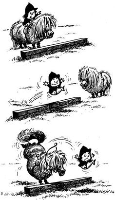 God how I love Thelwell!