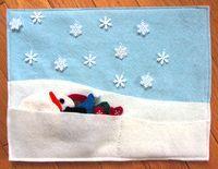 Snowman Quiet Book Page | Imagine Our Life