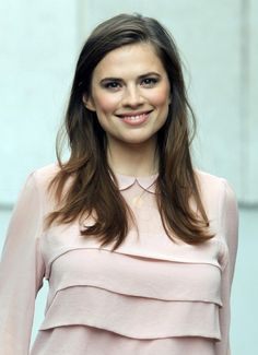 Haley Atwell: she has perfect characteristics of both French/English for Claire Beauchamp.