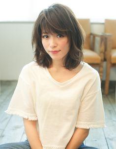 Round Face Haircuts, Hairstyles For Round Faces, Short Hair Styles For Round Faces, Short Hair Cuts, Gyaru Hair, Korean Haircut, Hello Hair, Kawaii Faces, Asian Hair