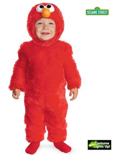 Halloween Light Up Elmo Costume for Toddlers