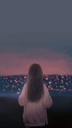 29 ideas nature girl cartoon for 2019 Couple Wallpaper, Girl Wallpaper, Cartoon Wallpaper, Cute Backgrounds, Cute Wallpapers, Cover Wattpad, Foto Top, Anime Love Couple, Anime Scenery