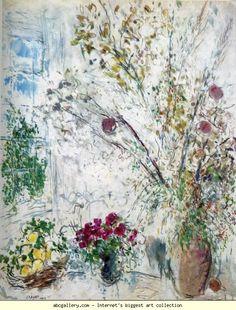 Marc Chagall. Lunaria (Les monnaies du Pape). Olga's Gallery.