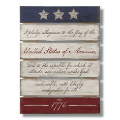 Home Wooden Signs, Wood Pallet Signs, Diy Wood Signs, Wood Pallet Crafts, Diy Pallet, Painting On Pallet Wood, Sign Painting, Pallet Ideas, Americana Crafts