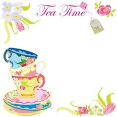 Free Printable Tea Time