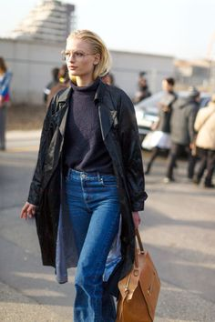 Chic takes the streets in Italy! Here are 58 of the best street styles looks from Milan Fashion Week: