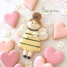 Valentines Baking, Valentine Cookies, Cupcake Cookies, Happy Valentines Day, Sugar Cookies, Spice Cookies, Cupcakes, Biscuits, Pastel