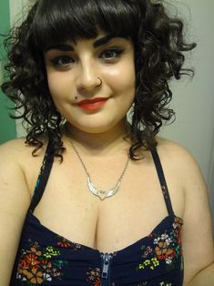 fat girls + short hair = YES! • Posts Tagged 'curly'