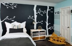 decorar paredes pintura pizarra