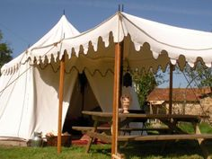I love this Glamping Tent...I want it!