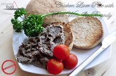 Chicken Liver Pate with Red Wine and Brandy