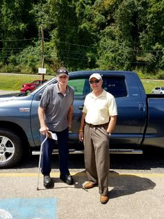 Don McCune with his Sales Associate, Jack Anderson. Thanks Again, Don 😃👍