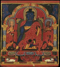 Three Buddhas from a Consecration Set. Tibet. 1400s.2