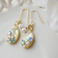 雑誌掲載中!Mermaidピアス/イヤリング(スワロBlue) ピアス ArtRier ハンドメイド通販・販売のCreema Polymer Clay Jewelry, Resin Jewelry, Jewelry Crafts, Jewelry Art, Fashion Jewelry, Handmade Accessories, Handmade Jewelry, Diy Resin Crafts, Bead Earrings