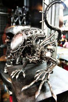 steampunk Alien
