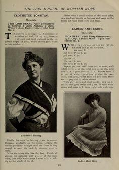 A manual of worsted work. Shawl Patterns, Knitting Patterns, Sewing Patterns, Knitting Ideas, Vintage Crochet Patterns, Vintage Knitting, Criss Cross, Vogue Knitting, Knitting Books