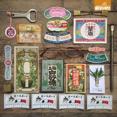 日本懷舊包裝紙品(昭和及戰前時期)$20 - $80