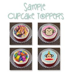 Little Mermaid Ariel Princess Edible Cupcake by SweetCakesForYou