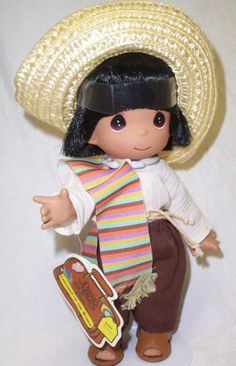 David is a vinyl Precious Moments Doll that is He is edition from the Children of the Bible Series. Precious Moments Figurines, Brunette Beauty, Collectible Figurines, My Precious, Make You Smile, Coloring Pages, Crochet Hats, Bible, Teddy Bear