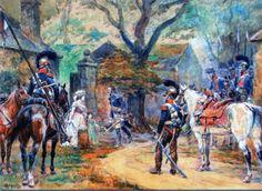 Les cavaliers de la Grande Armée :: Chevau-leger