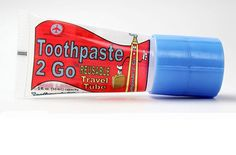 Toothpaste 2 Go Refillable System