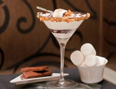 Smoretini. I cant think of anytime I wouldn't want this. 2 tablespoons ...